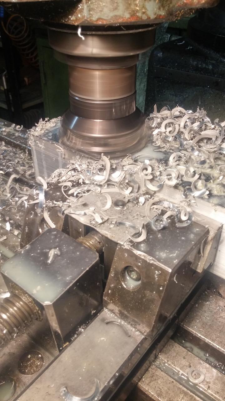 fresatura particolare in alluminio