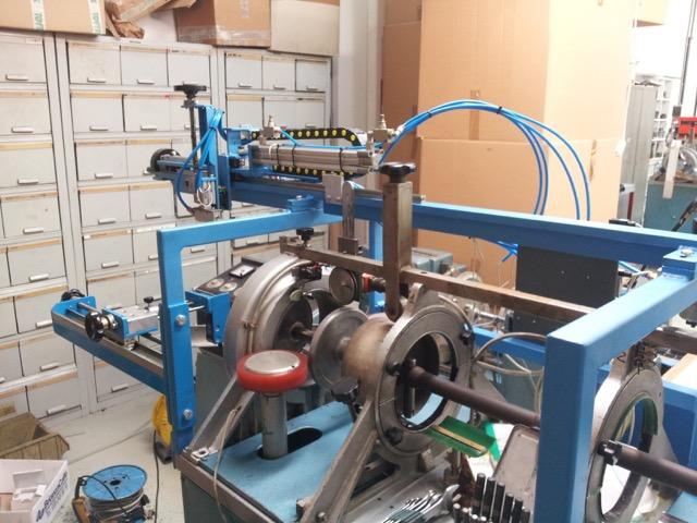 installazione traslatore pneumatico